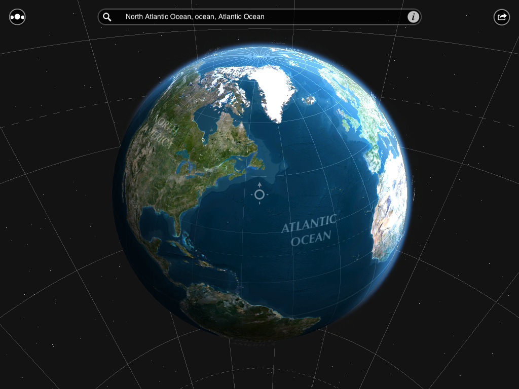 Explore a detailed satellite view of the earth, and search for over
